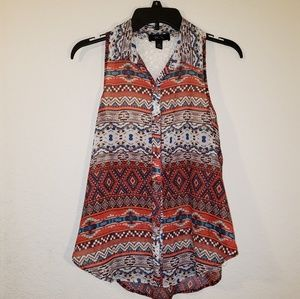 BCX Sleeveless Blouse